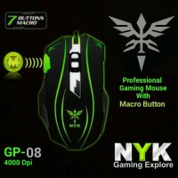 Nyk Gp-08 Mouse Gaming Rgb Makro 7 Button