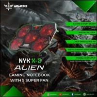 Nyk X2 Alien Cooling Pad Gaming For Laptop