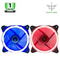 Nyk Fan Case Aurora Blue 12cm Ring Case Blue or Red