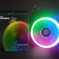 Nyk Fan Case Aurora Rgb 12Cm Ring Case