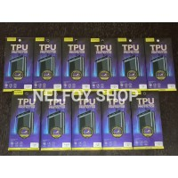 S10 Plus TPU Anti Shock Gores Karet Full Curved tempered glass Samsung