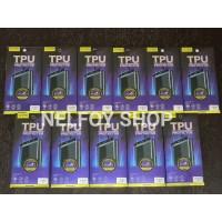 Samsung S10 Plus TPU Anti Shock Gores Karet Full Curved tempered glass