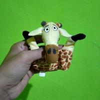 Boneka Jari Jerapah Madagascar Original