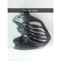 Cover Tutup Radiator Carbon Karbon Nemo Premium All New Nmax 2020