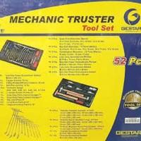 Crossman Gestar Mechanic Truster Toolset 52 Pcs Standar Bengkel Resmi