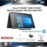 "HP Spectre x360 13 i7-1065G7 16GB 13.3"" Iris Plus 1TB SSD WIN10+OHS"