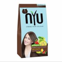 NYU hair colour/vitamin rambut/semir/pewarna rambut (natural brown)