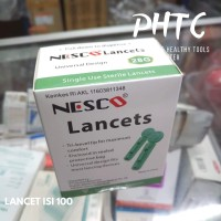 Nesco Jarum Blood Lancet 28G isi 100pcs / Blood Lancet / Jarum Lancet