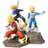 Action figure Dragon Ball APF absolute perfection Goku Trunks Vegeta