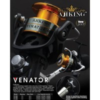 Reel Pancing Ajiking Venator 2000 - Screw In Power Handle