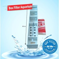 TOP TALANG/BOX FILTER AQUARIUM UKURAN 80.CM harga promo
