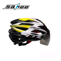 HELM SEPEDA SOHOO Cycling Magnetic Goggles With Warning Light