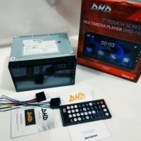 Double-Din-DHD -1076 Autolink Glass panel- high quality-meri audio