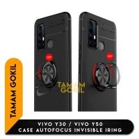 Vivo Y30 / Y50 Case Autofocus Invisible Iring SoftCase