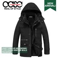 Jaket Tebal Musim Dingin Pria Wanita CASC Parka WinterBold 1.0 Prosper