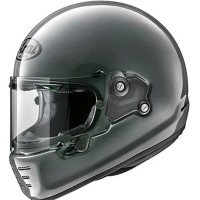 Helm Full Face Retro Modern Arai Rapide Neo Modern Grey Made in Japan