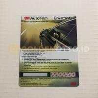 Kaca Film 3M Crystalline - KACA DEPAN (Medium Car)