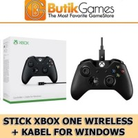 Stick Xbox One Wireless Controller + Cable for Windows