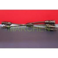 Kabel MC4 konektor Cabang 2 Splitter