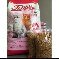 Pakan Kucing Felibite Ikan dan Donat 500Gr