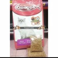 Makanan Kucing Omega Saefood 800g Repack