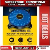Armaggeddon Neuron Galaxy SFX RGB Light PC Cooling Fan- Garansi 1Tahun