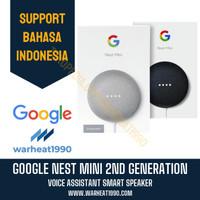 Google Nest Mini 2 / 2nd Generation Home Smart Speaker ORIGINAL - Abu-abu