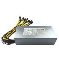 2400W PC Power Supply Mining Power Supply Eth Rig Ethereum Bitcoin Min