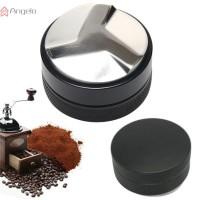 Coffee Tamper Mini Black Durable Stainless Steel 58/51mm Hammer
