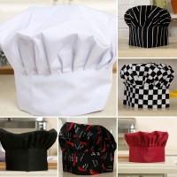 ?angela Topi Chef / Tukang Roti Kue / Katering Bahan Polyester