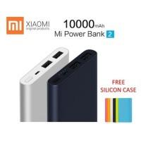 TERLARIS Power Bank 2port BONUS SILIKON -Xiaomi Mi-10000mAh 2 Dual USB