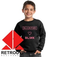 BARU Sweater Anak Blackpink X Blink NEW