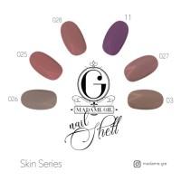 PROMO Madame Gie Nail Shell N-Shell Peel Off Skin Series MURAH