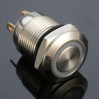 ❤angela 12mm 4 Pin Switch Push Button Tombol Saklar Tekan On/Off