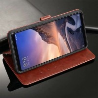 Flip Cover Xiaomi Redmi 6 Leather Softcase Wallet Card