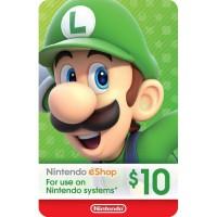 Nintendo Eshop Card 10 USD (US)