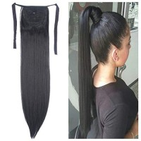 Hair Extensions Ponytail One Piece Tie Up Ponytail Clip in Hair Extens