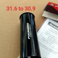 Adaptor Seatpost 31.6 to 30.9 Alloy CNC