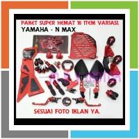 JTTKU44 16 TERMURAH PAKET MOTOR ACCESORIES YAMAHA NMAX ITEM