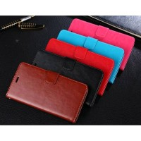 Flip Cover Oppo F7 (Pro) Leather Soft Case Wallet Card