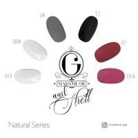 PROMO Madame Gie Nail Shell N-Shell Peel Off Natural Series MURAH