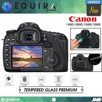 Tempered Glass Anti Gores Protector Canon 1100D 1200D 1300D 1500D