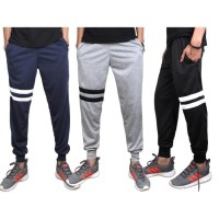 STRIPE 2 Celana Training panjang jogger joger baby terry stripe strip