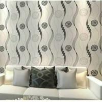 wallpaper dinding sticker - cakra 45 cm x 10 m