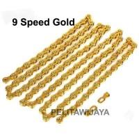 Rantai Chain 9 Speed Groupset Sepeda Lipat MTB Road Noris Troy Ecsomo