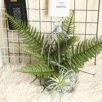 GUNINCO DAUN PAKIS besar berduri tanaman artifisial daun palsu hias