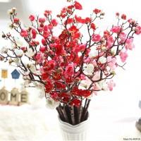 GUNINCO BUNGA SAKURA tangkai palsu tanaman artifisial
