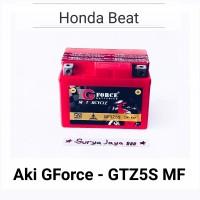 Aki Motor Honda Beat G-Force GTZ5S MF