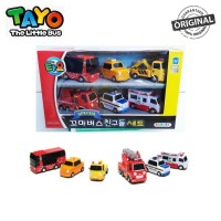 Original Tayo The Little Bus Mini Cars Set 6 Style TYT112010 Toto