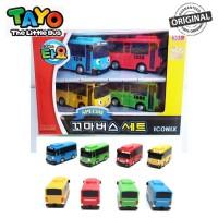 Original Tayo The Little Bus 70mm Mini Cars Set TYT112002 Tayo Gani